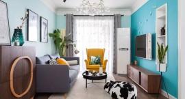 小户型客厅适合怎样的设计?不妨在颜色上尝试一番!