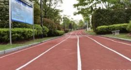 宜春中心城区首条塑胶健康步道完工!看看在你家附近吗?