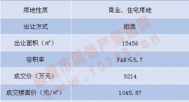土拍结果出炉!揽金5.15亿,今日袁州新城三宗住宅用地拍卖成功,楼面价约4166元/㎡。