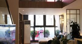 东投·明月里建面约45-72㎡明月4.5米loft公馆金装样板间华丽绽放!