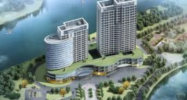 金控·秀水金岸建面约35-80㎡江景公寓全城预约火热进行
