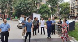 市住建局组织袁州区、宜阳新区前往赣州市学习老旧小区改造工作