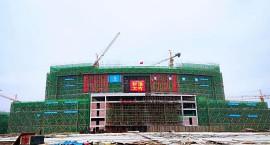 工程进度   总用地面积为1497亩,宜春这所学校新校区28栋单体建筑最新进度来啦!