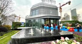 热力倾城!新城15万方高端商务综合体售楼部今日耀世开放!