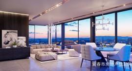 自由巨厅+多套房设计+空中花园+270°景观弧形大飘窗,既舒适又功能强大又高颜值产品登临!